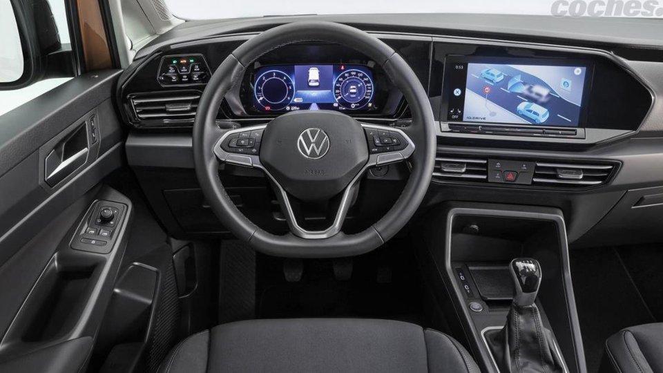 Nueva Volkswagen Caddy 2021, cargada de novedades y tecnología