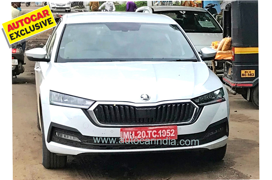 2021 Skoda Octavia spied in India for the first time ...
