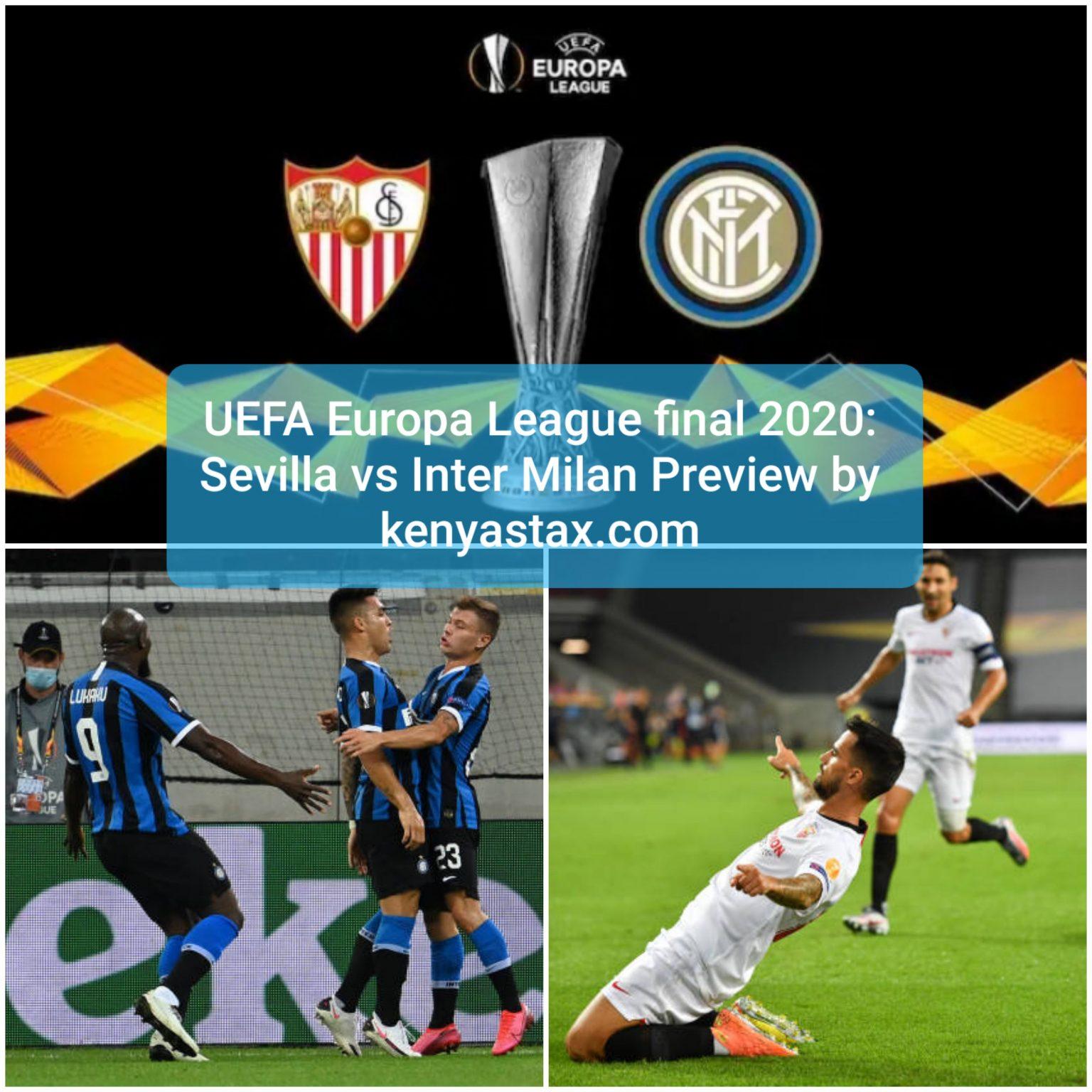 Sevilla vs Inter Milan UEFA Europa league final2020:Kick ...