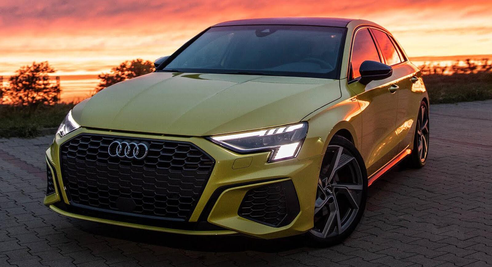 2021 Audi A3 Sportback Exhibits Its Artsy Facet On Digital ...