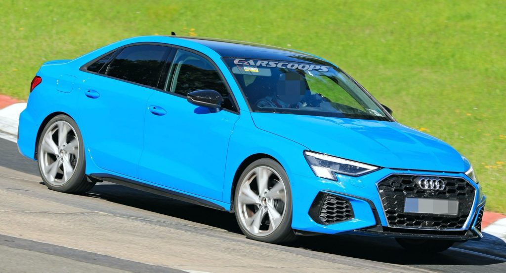 2021 Audi S3 Sportback And Sedan Ditch All Camouflage As ...