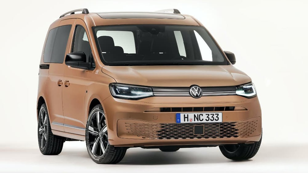 New VW Caddy 2021 detailed: Sportier Golf-based van and ...