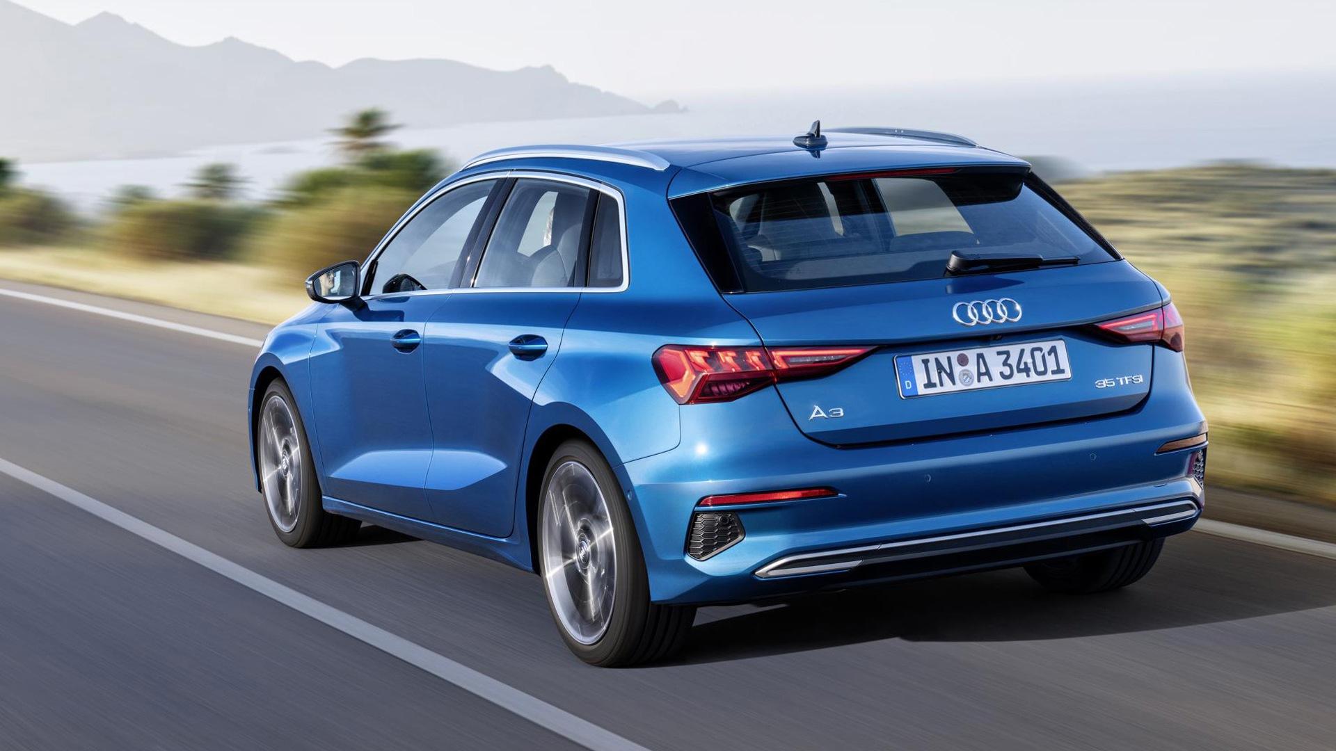 2021 Audi A3 revealed in Sportback body style