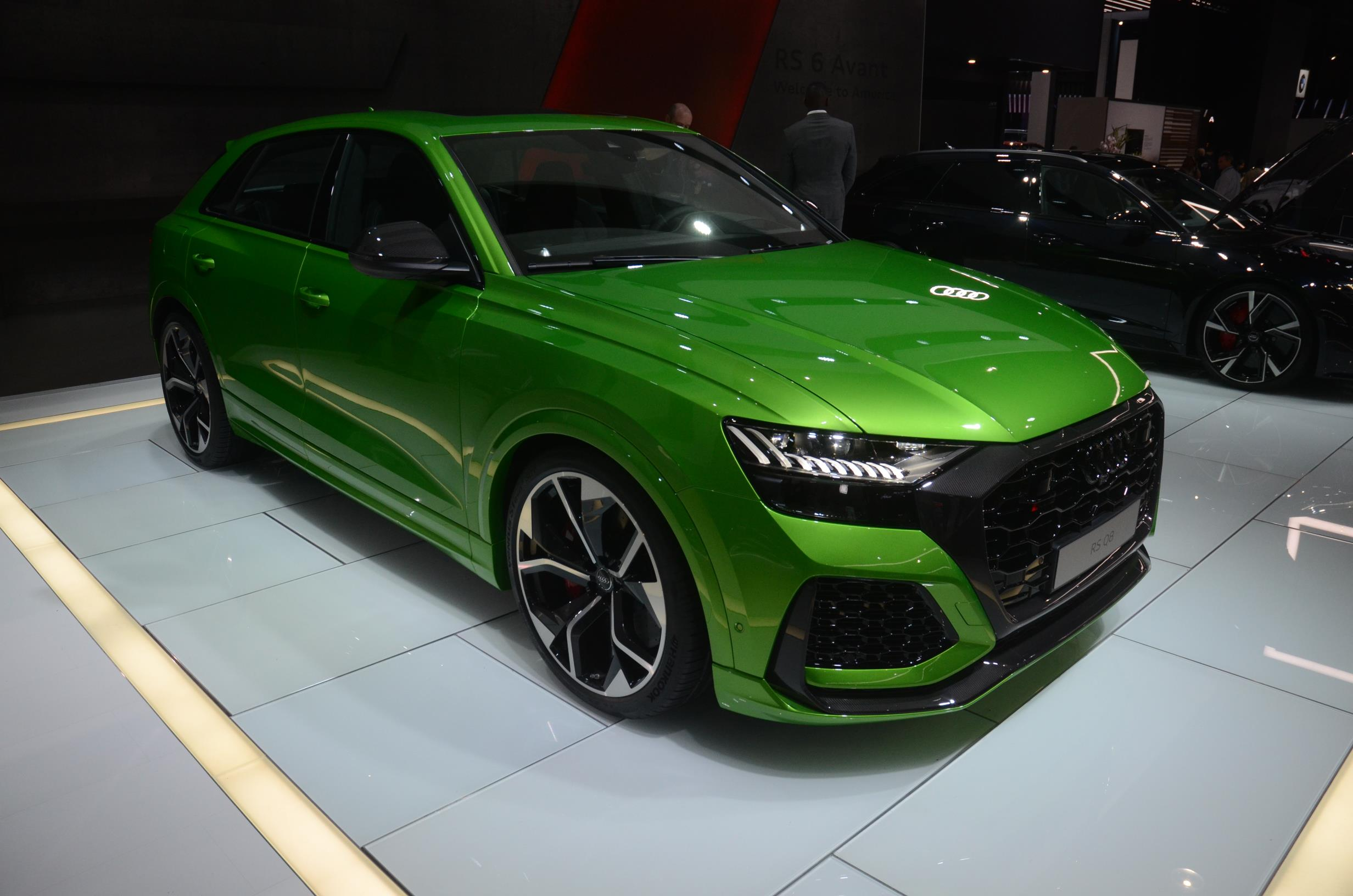 2021 Audi RS6 Looks Like Darth Vader's 600 HP Wagon in Los ...