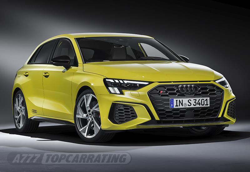 2021 Audi S3 Sportback - характеристики, фото, цена.