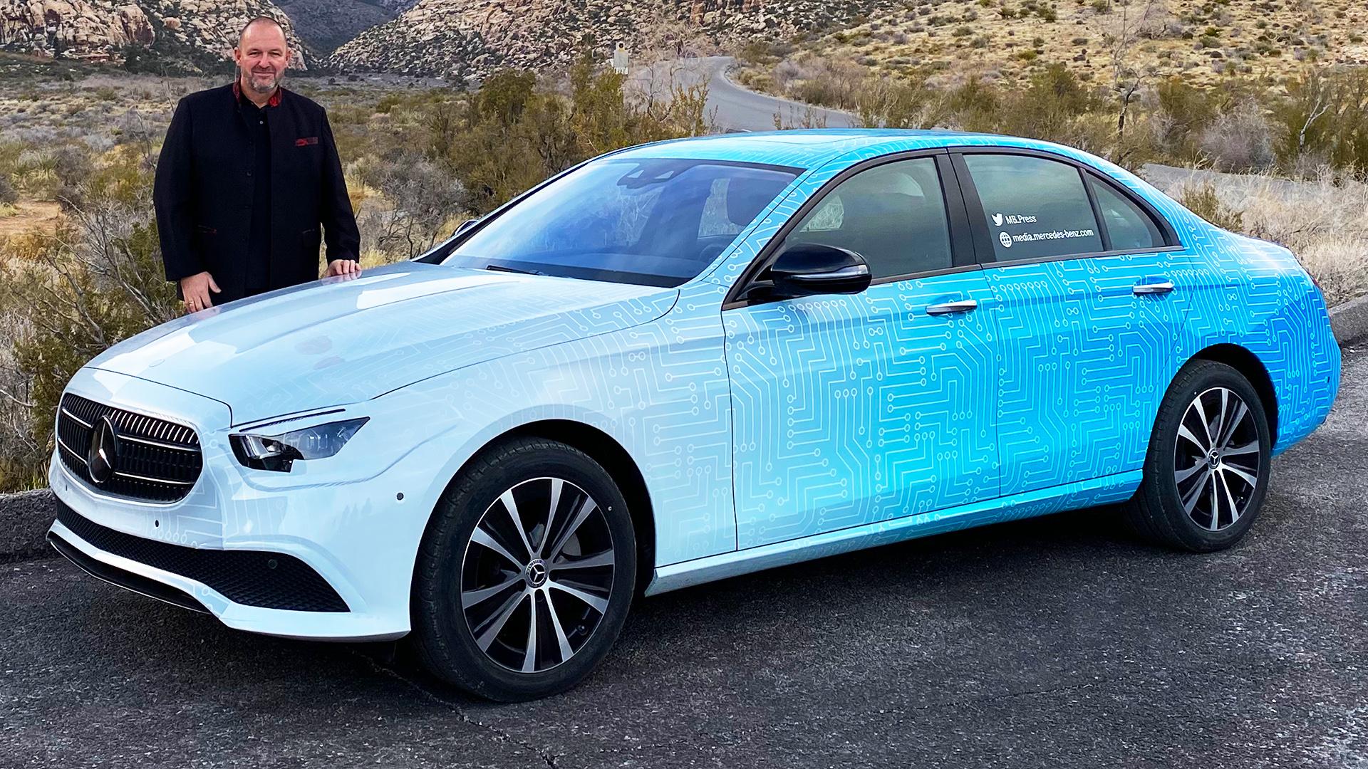 Mercedes E-Klasse 2021 - Mitfahrt im E-Klasse Facelift ...