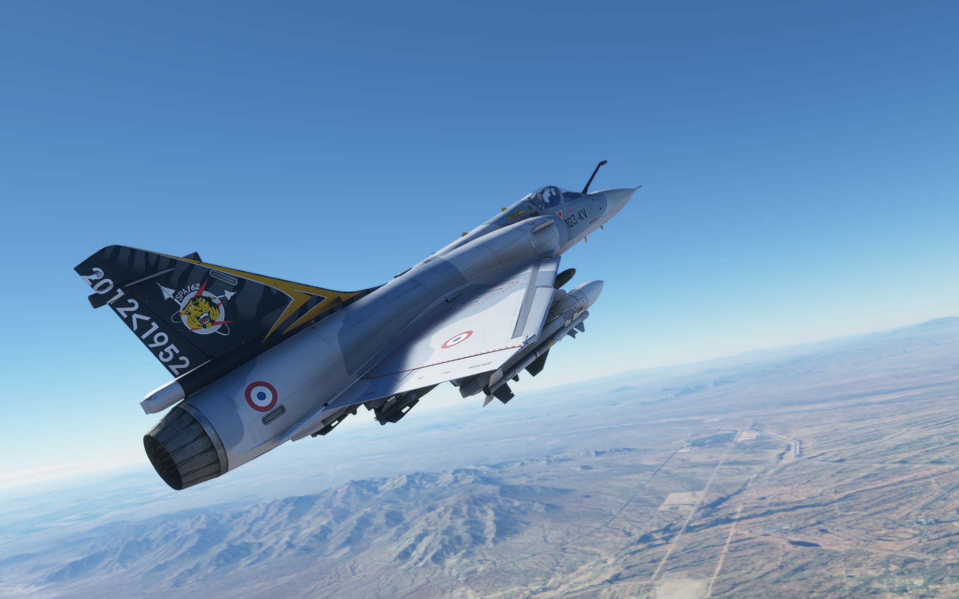 Mirage 2000 at Microsoft Flight Simulator Nexus - Mods and ...