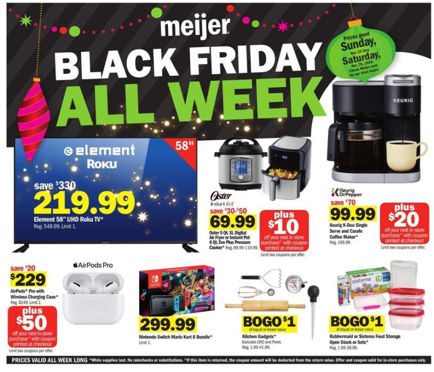 Meijer Black Friday 2021 - Ad & Deals   BlackFriday.com