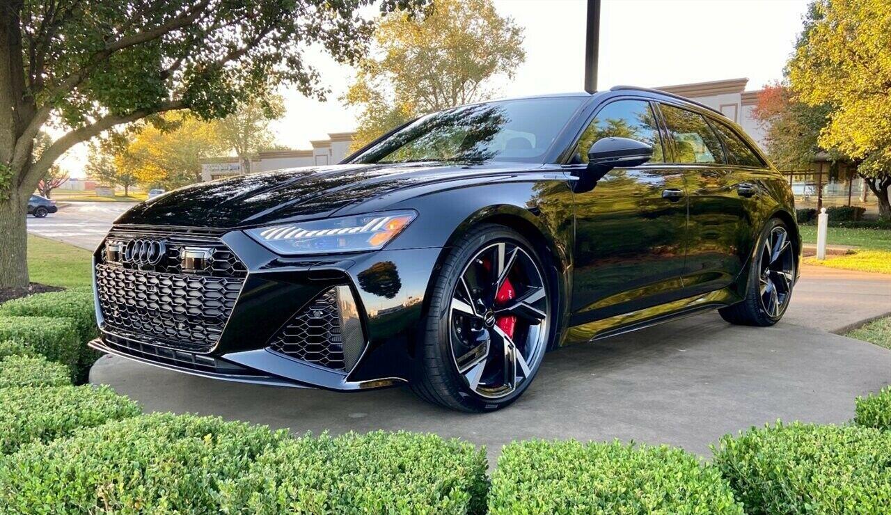 2021 Audi RS6 4.0T quattro Avant | eBay