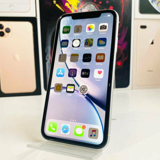 IPHONE XR WHITE 128GB DUAL SIM NO FACE ID | iPhone ...