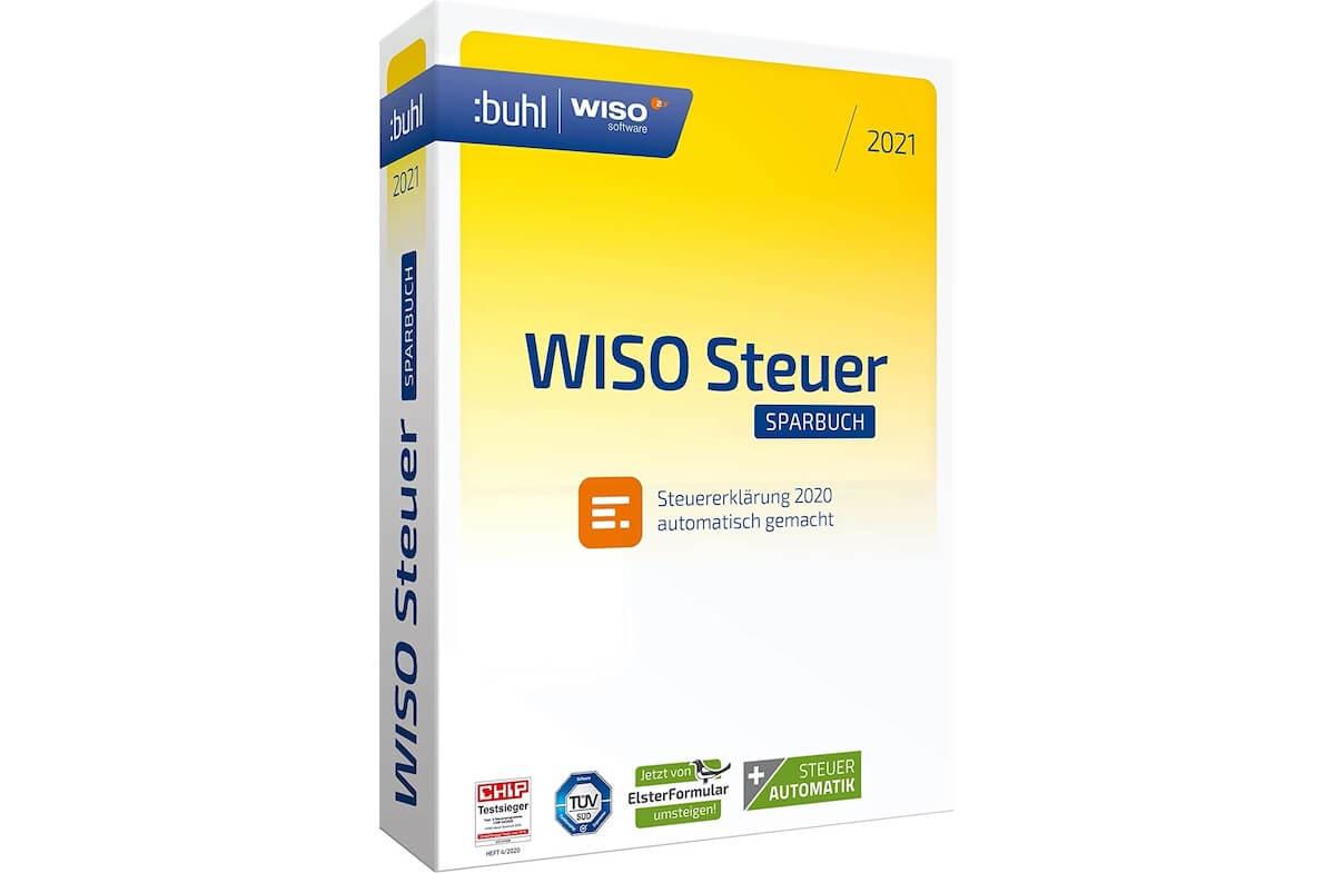 WISO steuer:Sparbuch 2021 (für Steuerjahr 2020) für 19 € ...