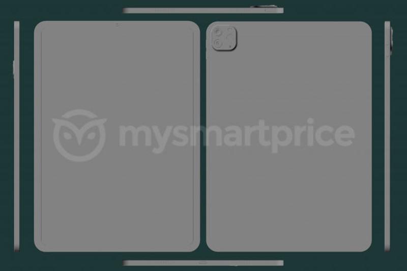 Đây là thiết kế của Apple iPad Pro 11 inch 2021 ...