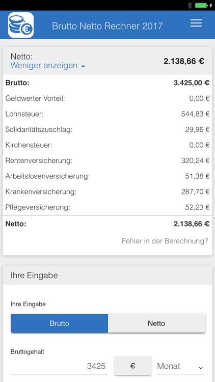 Brutto Netto Rechner - 2021 by ub.de Fachwissen GmbH