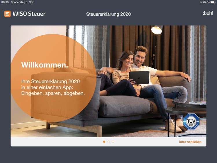 WISO Steuer 2021 Tablet by Buhl Data Service GmbH