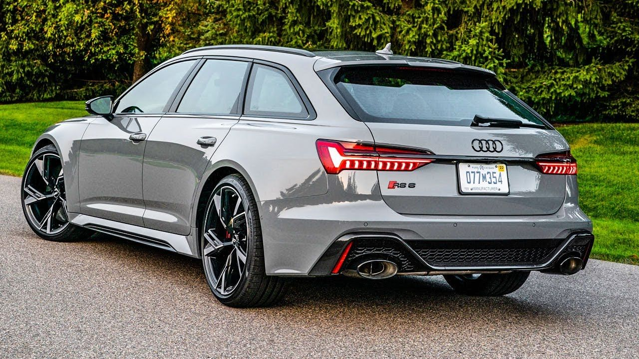 All New 2021 Audi RS6 Avant - FULL REVIEW!! (US Spec ...