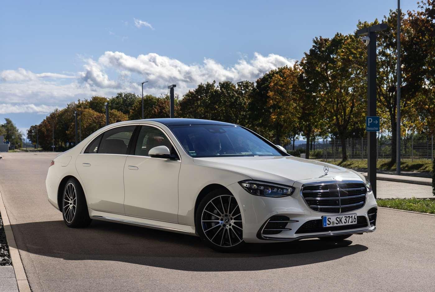 VIDEO Die neue Mercedes-Benz S-Klasse: Automobilen Luxus ...