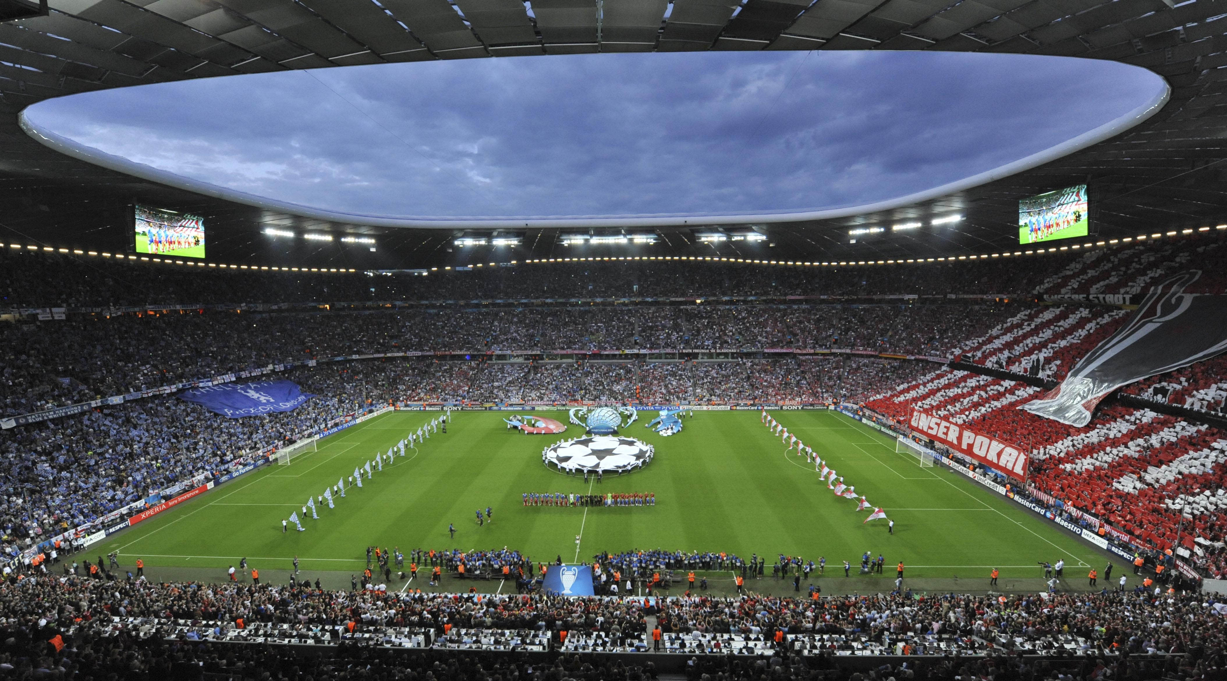 Russia, Germany compete to host 2021 Champions League final