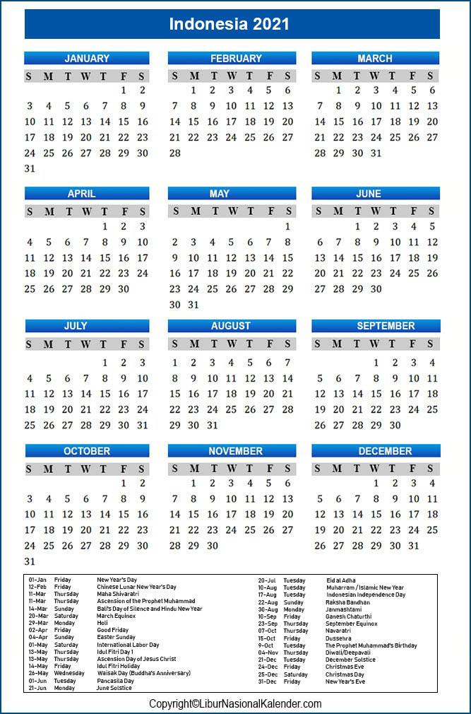Kalender 2021 Hari Raya Idul Fitri 2021 Indonesia