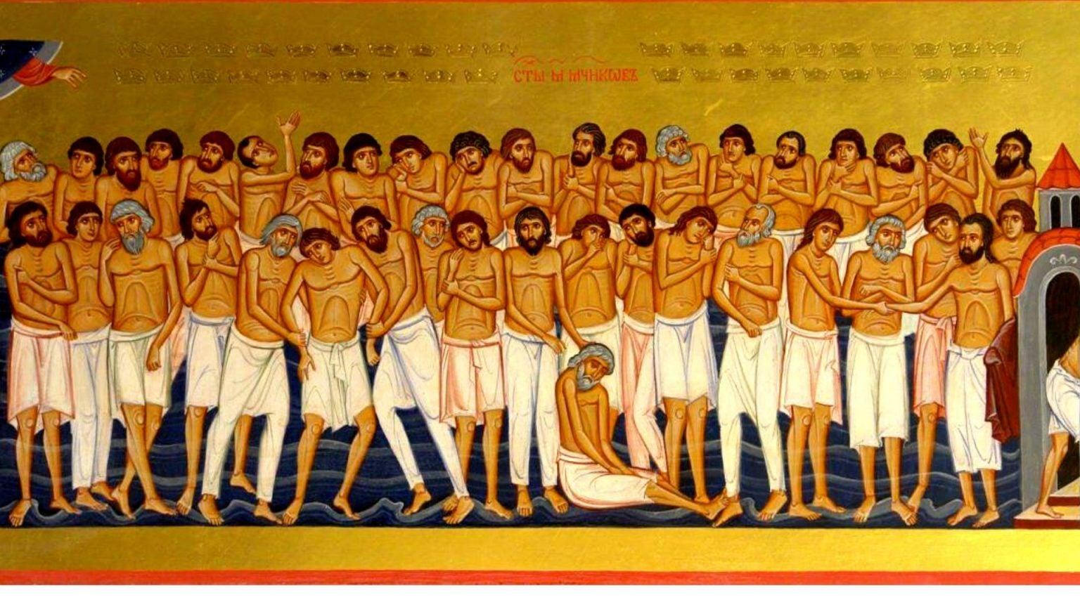 Calendar ortodox 9 martie 2021. Sfinții 40 de mucenici
