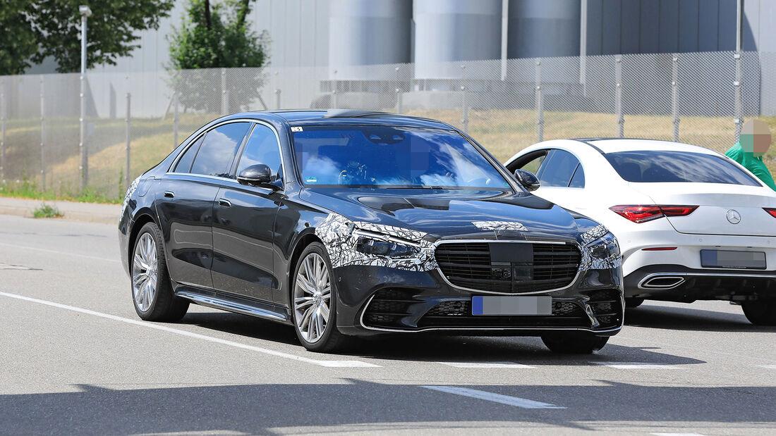 Mercedes My MBUX im W223: Die schlauste S-Klasse aller ...