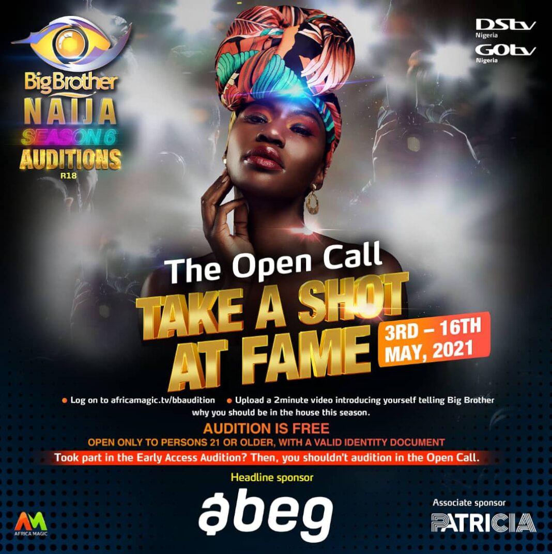 Big Brother Naija (BBNaija) 2021 Application Form For ...
