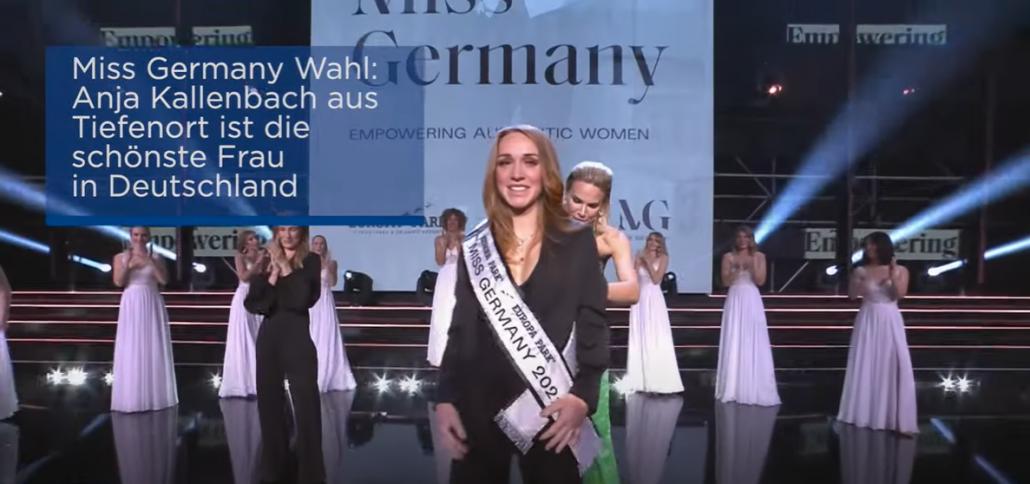 Miss Germany 2021 ha 33 anni ed è già mamma - Berlino Magazine