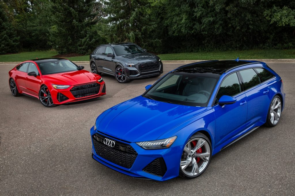 Audi Launches Three New RS Models In The USA | SuperCars.net