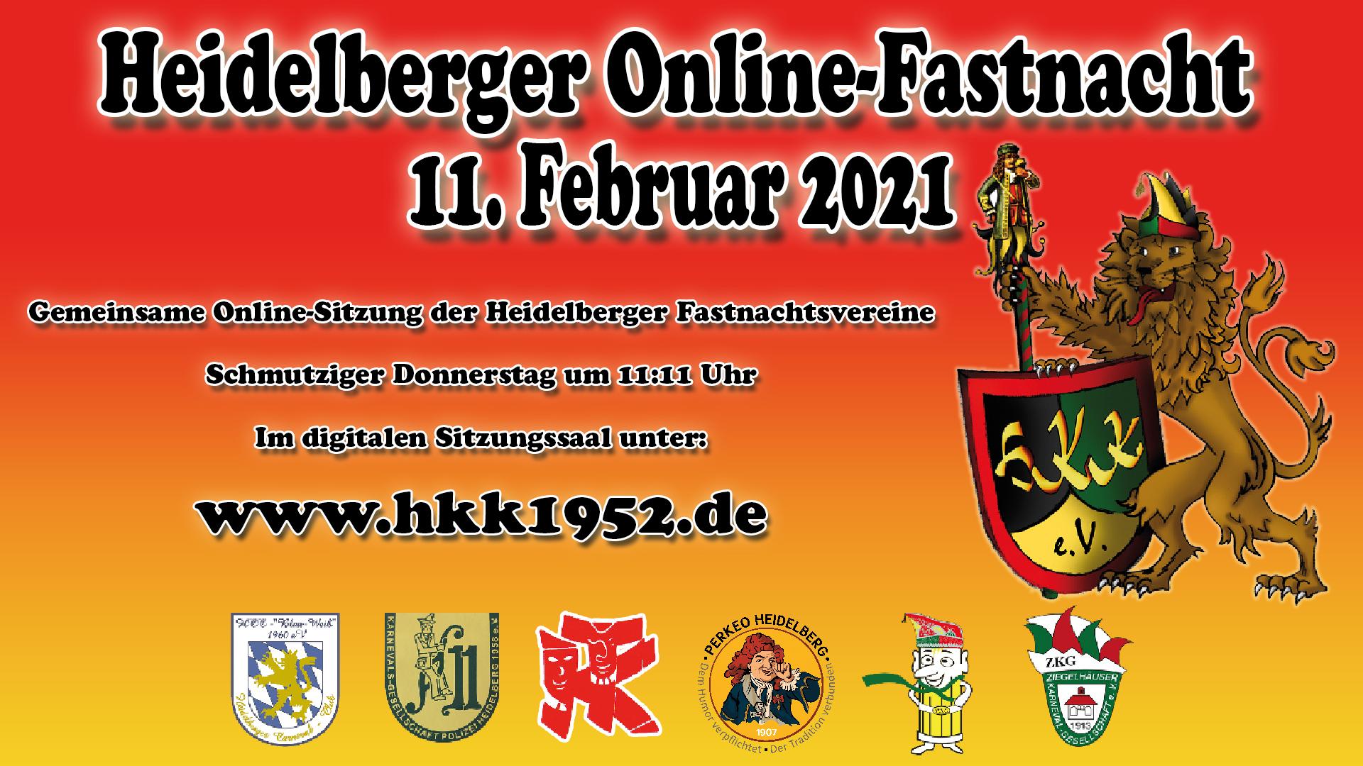 Termine 2020/2021 | HKK 1952 - Heidelberger Karneval Komitee