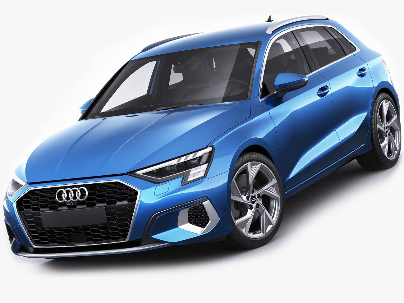Audi A3 Sportback 2021 3D model | CGTrader