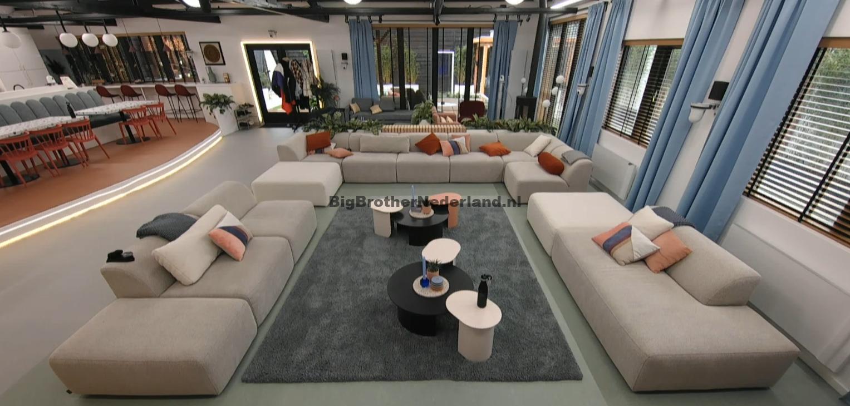 Het Big Brother huis is leeg, iedereen wordt één voor één ...