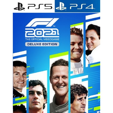 F1 2021: Deluxe Edition PS4 PS5 | BuyGames.PS