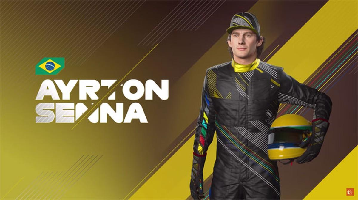 F1 2021 terá Lewis Hamilton na capa e Ayrton Senna em ...