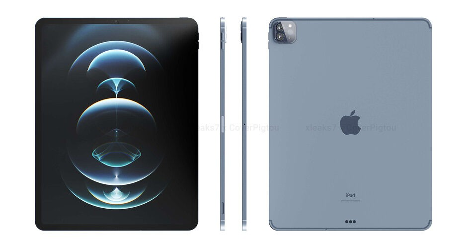 Leaked Apple IPad Pro 2021 5G Design | Mi Deals