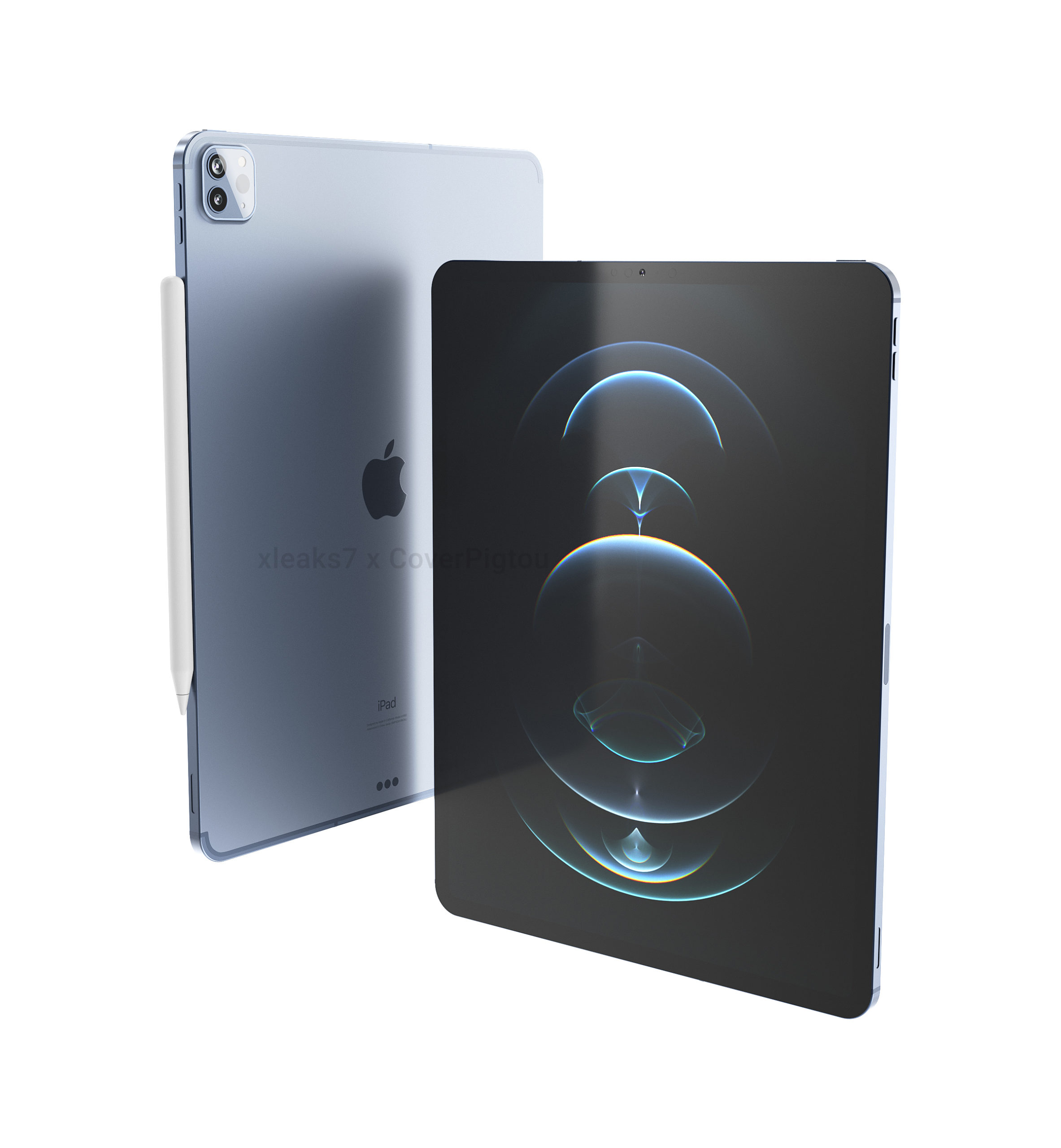 """This is what the 12.9 """"iPad Pro (2021) will look like ..."""