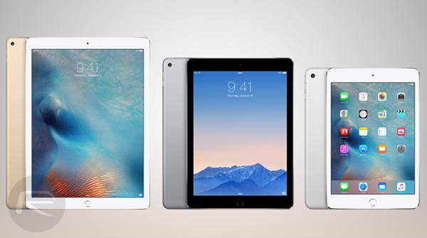 iPad Pro vs iPad Air 2 vs iPad mini 4 [Specs Comparison ...