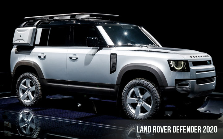 Land Rover Defender 2021 — 2021 Year