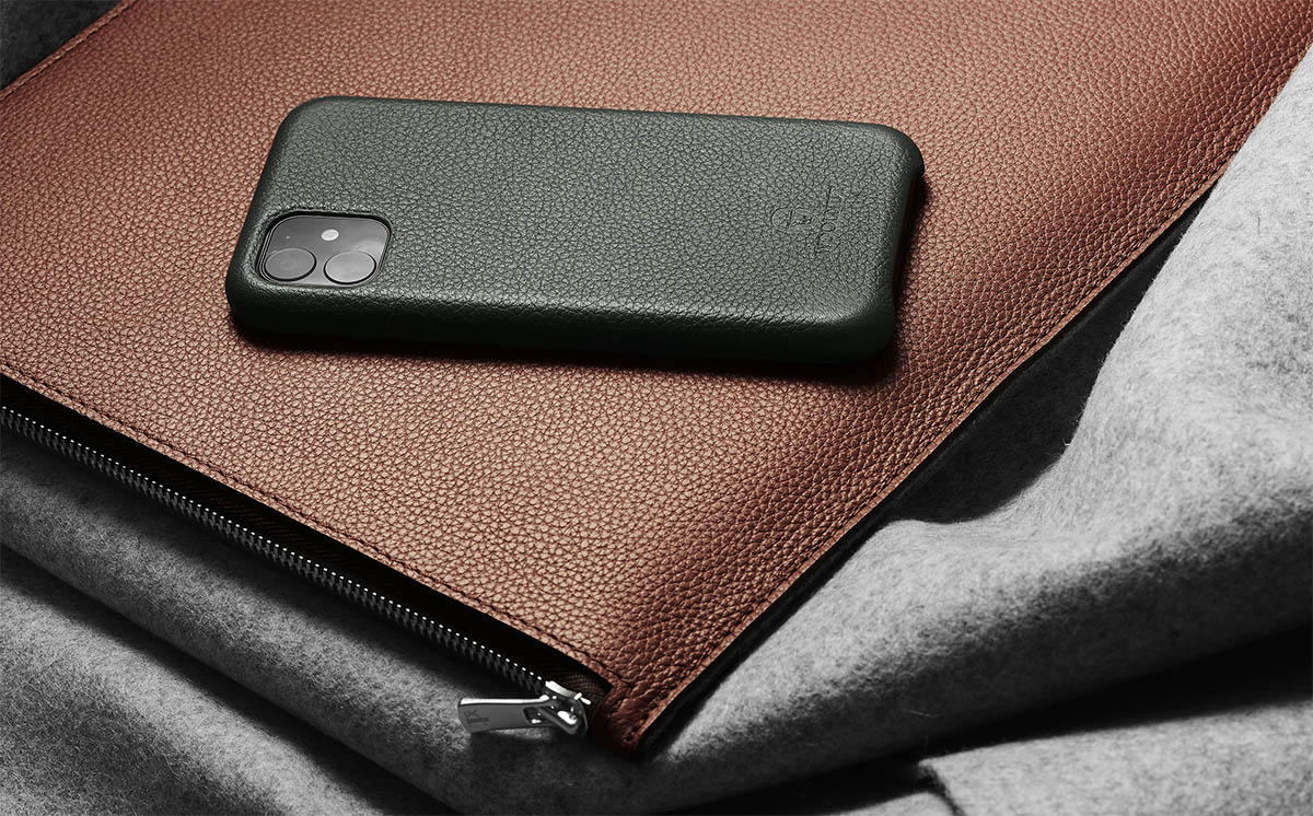 MacBook Leather Sleeve 2021 | Woolnut Premium MacBook Case ...