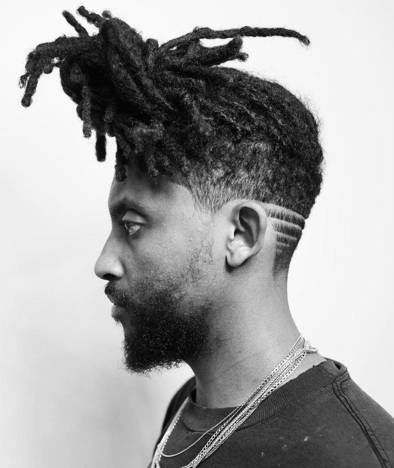 Fresh Dreadlocks Stil für Männer Frisuren 2021