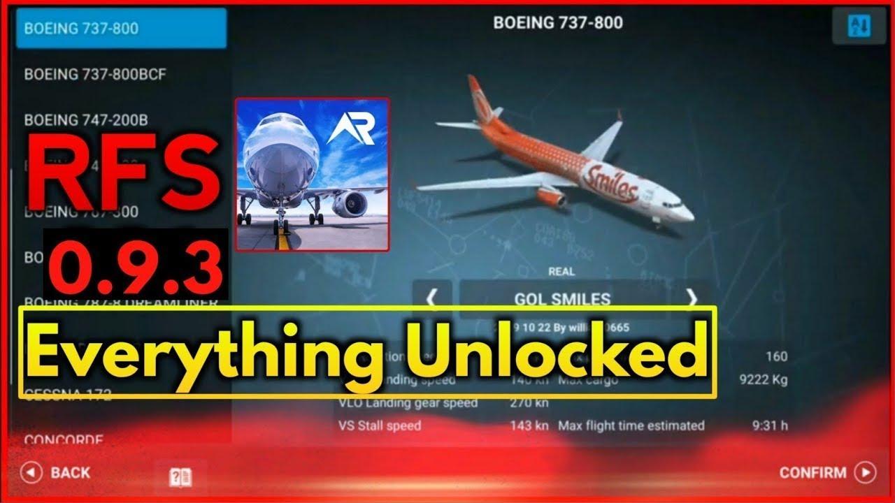 RFS Real Flight Simulator Pro Hack 0.9.3   Full Unlocked ...