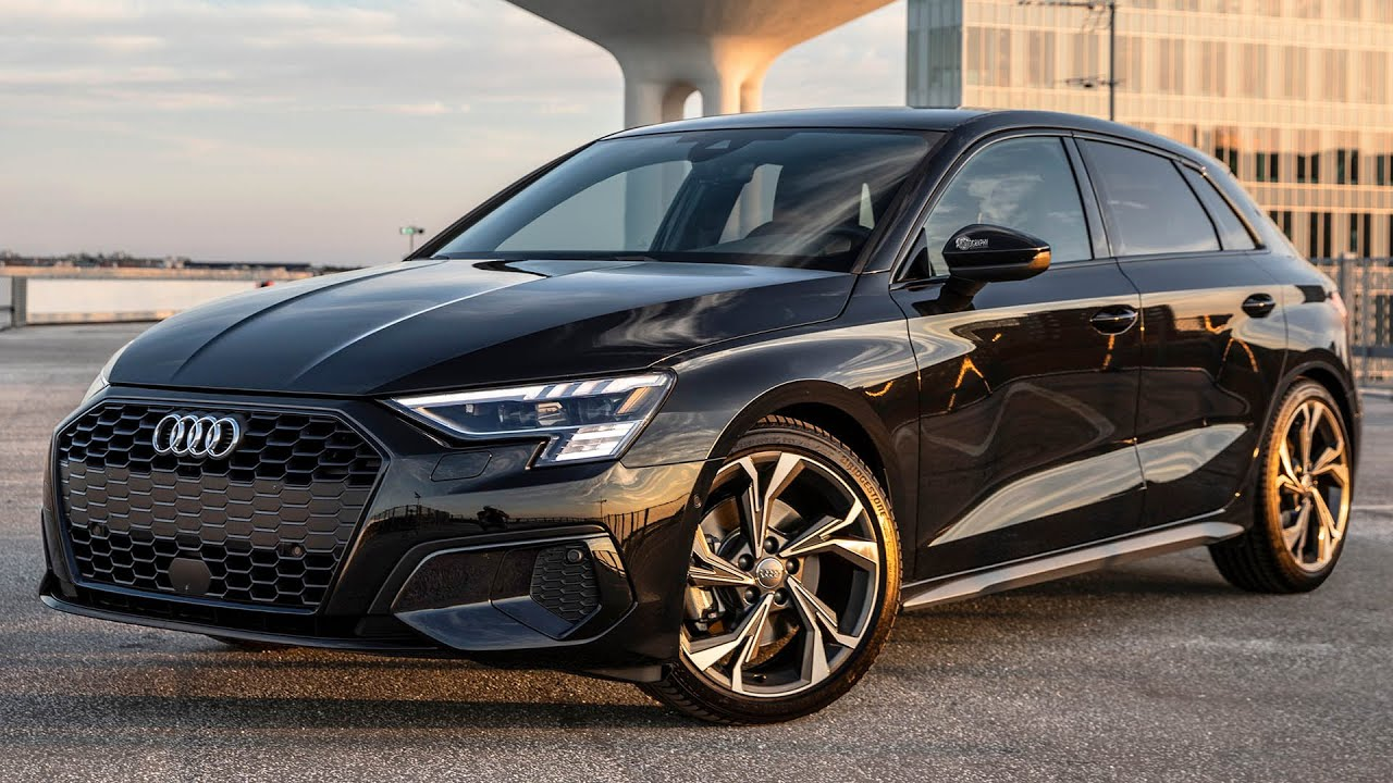 2021 AUDI A3 SPORTBACK - BLACKED OUT & DEBADGED - Is it ...