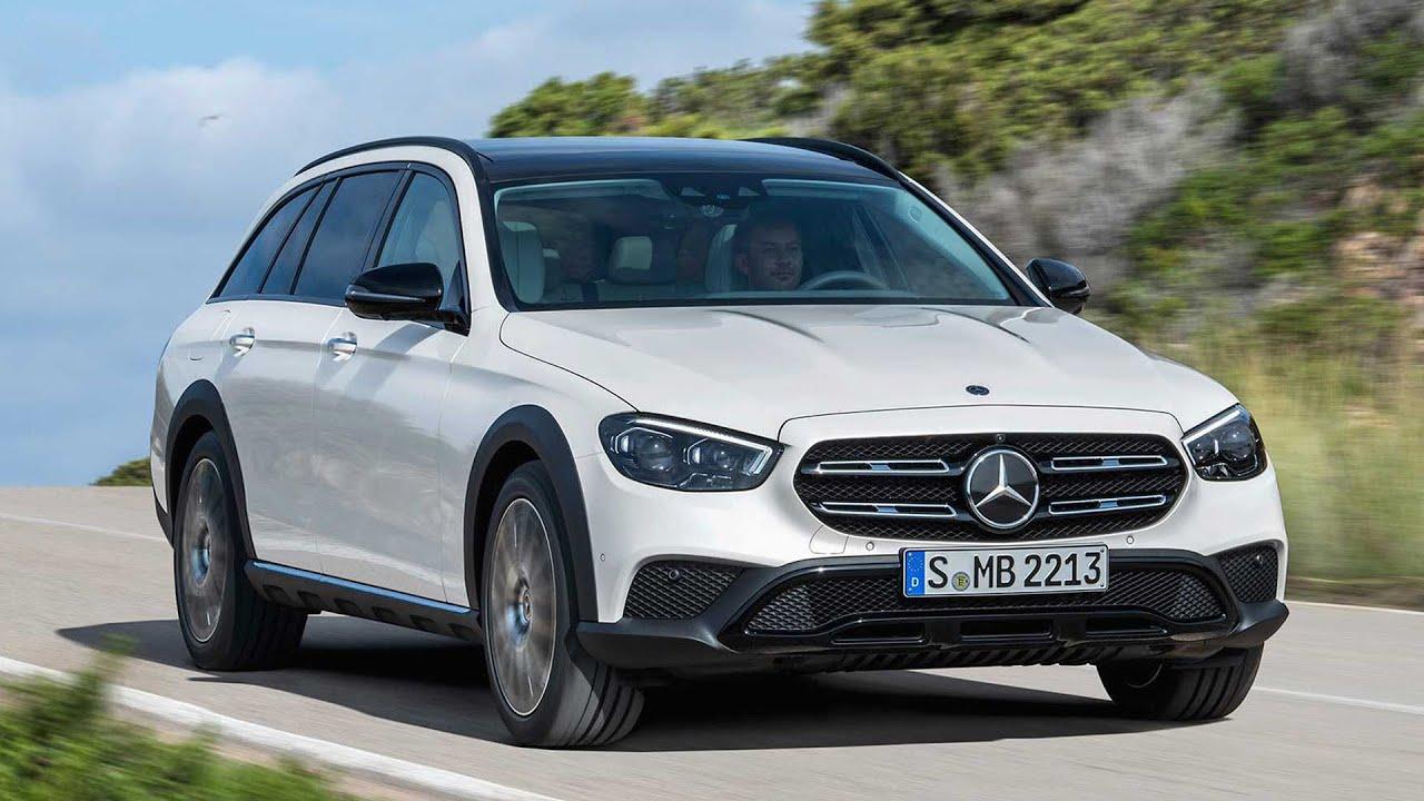 2021 Mercedes E-Klasse All Terrain - YouTube