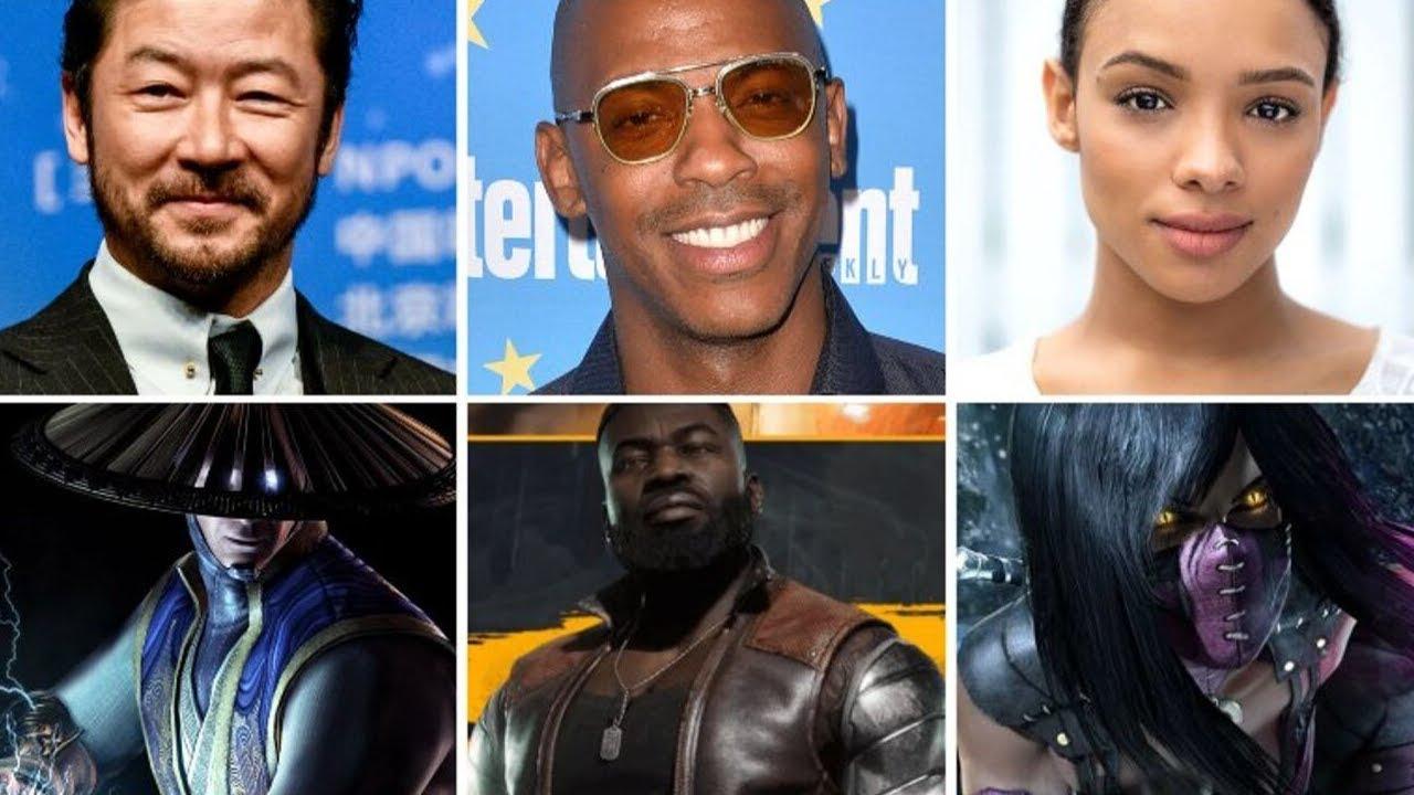 Mortal Kombat 2021 Movie Cast & Details - YouTube