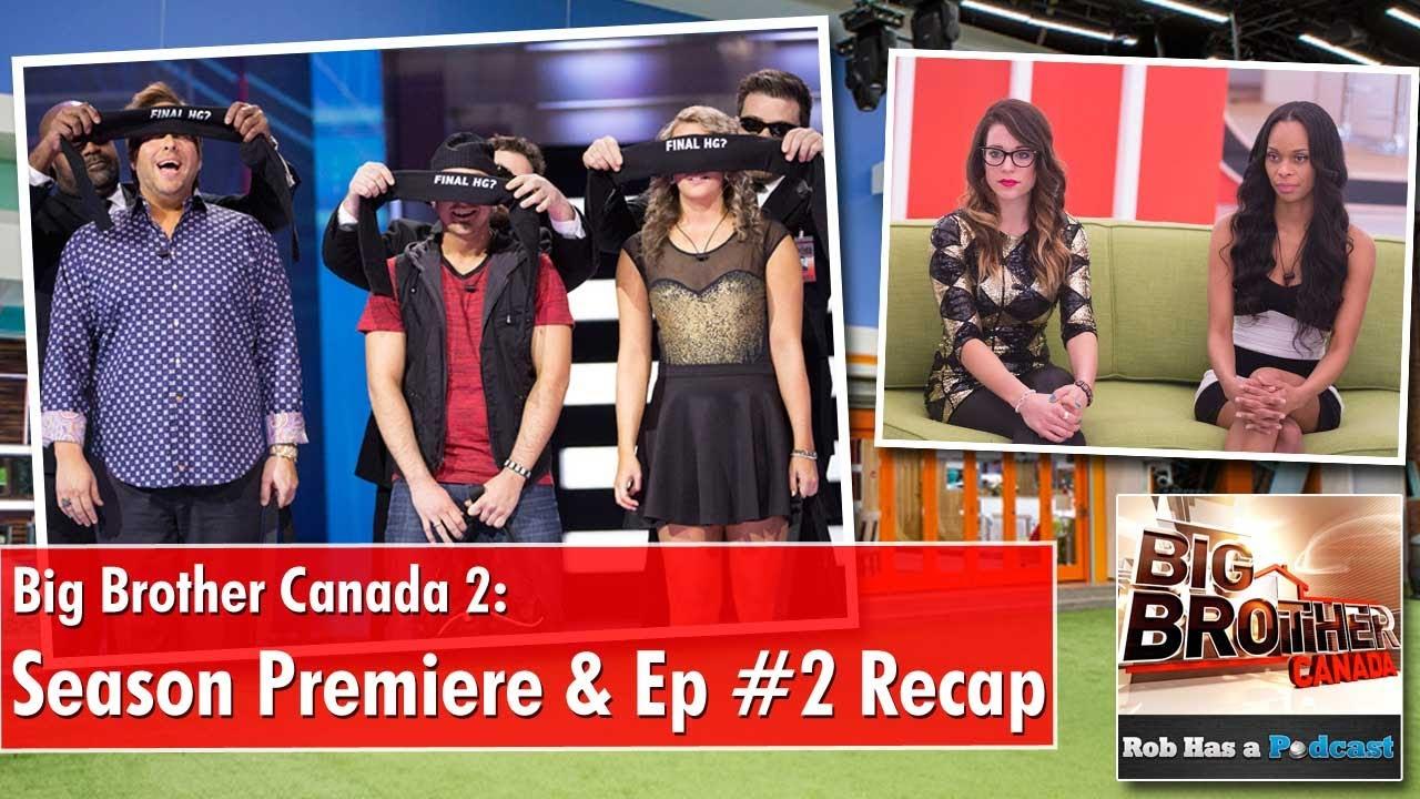 Big Brother Canada 2 Season Premiere & Episode #2 Recap ...