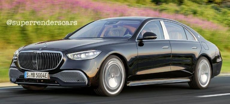 Mercedes-Maybach von morgen: Neues Rendering von Mercedes ...