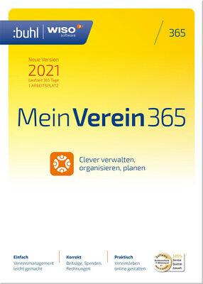 WISO Mein Verein 365 (2021), Download, Windows | eBay