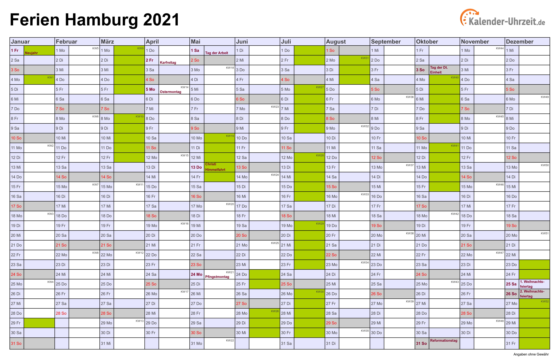 45 HQ Pictures Wann Sind Sommerferien 2021 : Schulferien ...