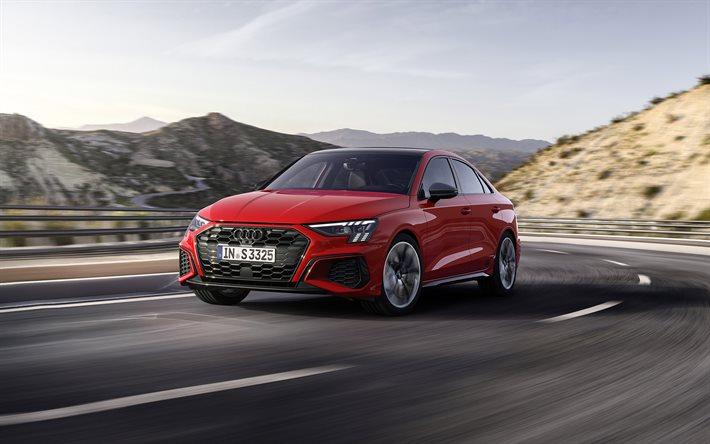 Descargar fondos de pantalla 2021, Audi S3, exterior ...