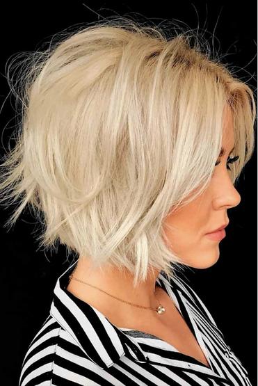 Frisurentrends 2021 Frisuren 2021 Damen Mittellang