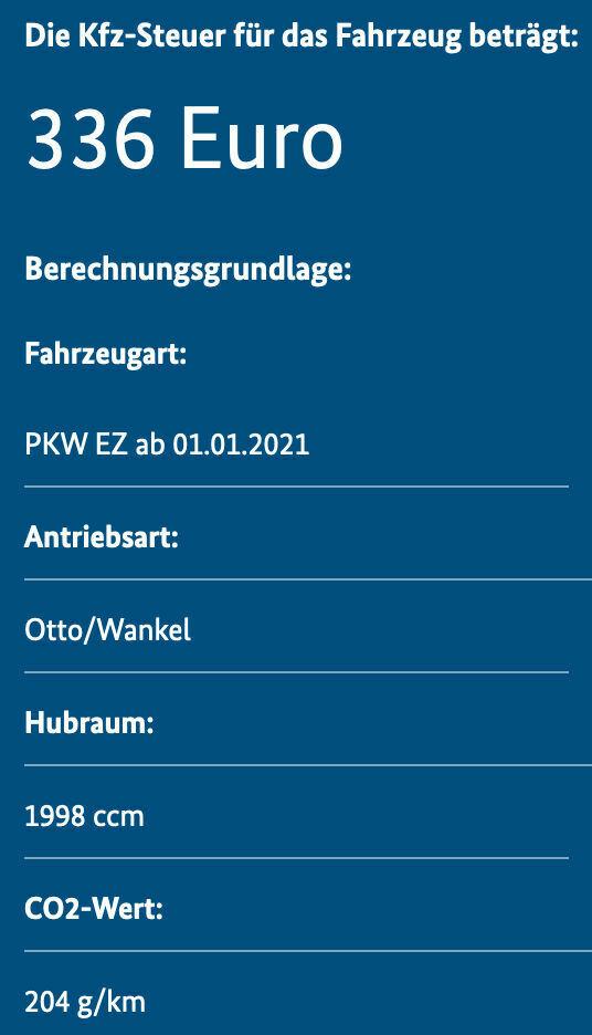 KFZ-Steuer_2021 : Kfz-Steuer Tarraco TSI und TDI nach WLTP ...