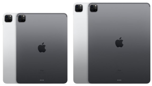 Apple's 2020 iPad Pro 11-inch vs. iPad Pro 12.9-inch ...